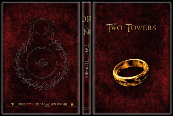 The Lord of the Rings (Yüzüklerin Efendisi) - Custom Dvd Cover Set - English-two-towersjpg