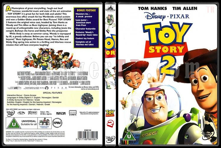 Toy Story (Oyuncak Hikayesi) Trilogy - Custom Dvd Cover Set - English [1995-2010]-2jpg