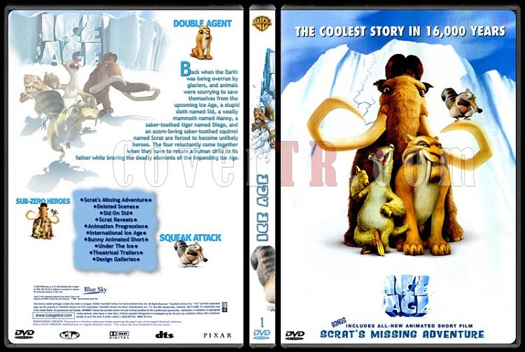Ice Age (Buz Devri) Collection - Custom Dvd Cover - English [2002-2009]-1jpg