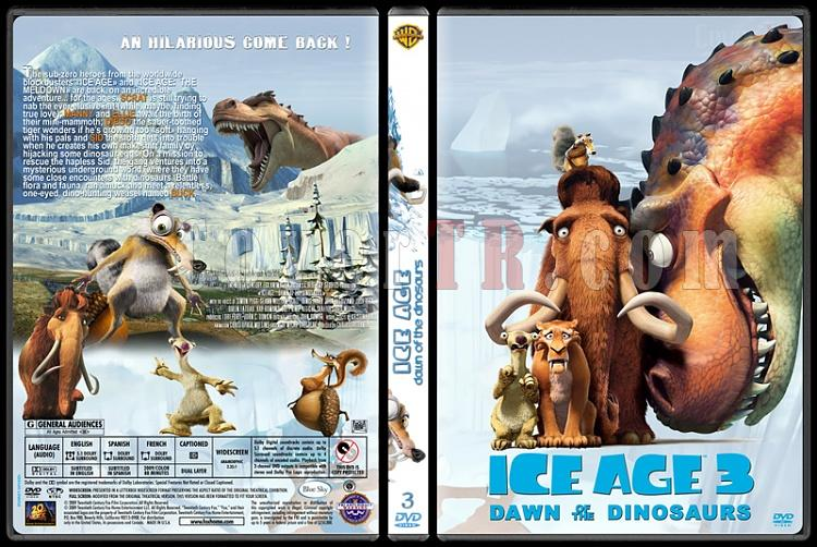 Ice Age (Buz Devri) Collection - Custom Dvd Cover - English [2002-2009]-3jpg
