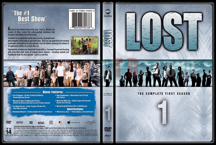 Lost Collection (Seasons 1-6) - Custom Dvd Cover Set - English [2004-2010]-lost-season-1jpg
