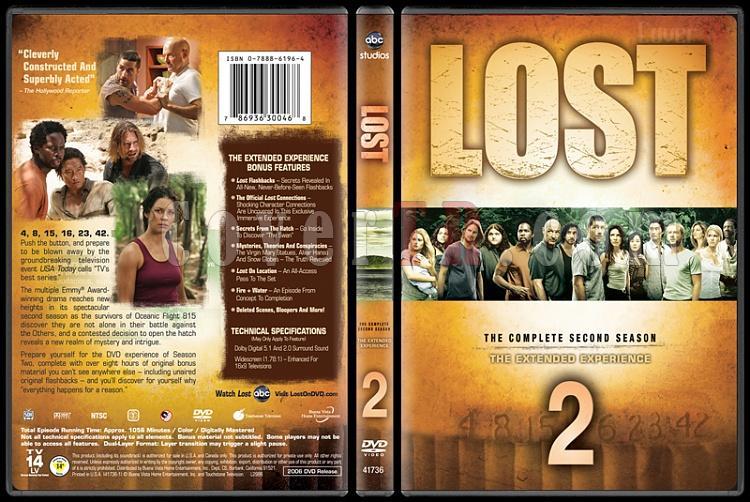 Lost Collection (Seasons 1-6) - Custom Dvd Cover Set - English [2004-2010]-lost-season-2jpg