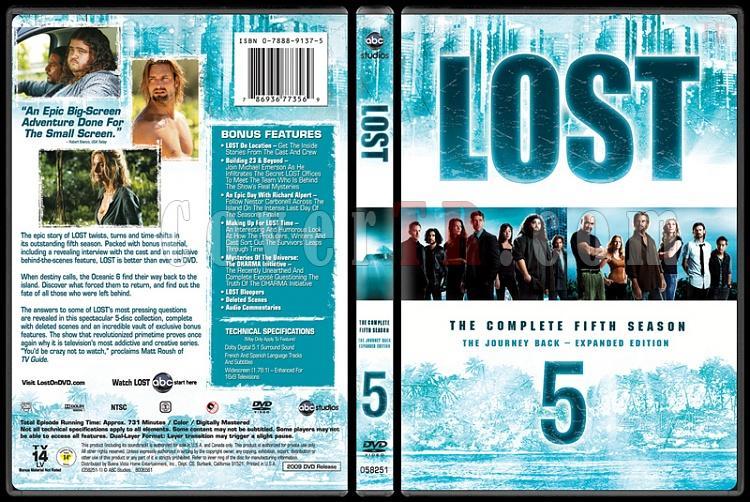 Lost Collection (Seasons 1-6) - Custom Dvd Cover Set - English [2004-2010]-lost-season-5jpg
