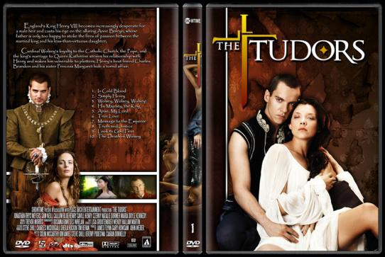 The Tudors (Seasons 1-4) - Custom Dvd Cover Set - English [2007-2010]-tudors-season-1jpg