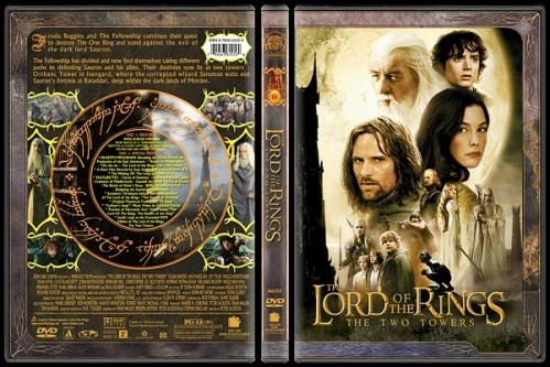 The Lord of the Rings (Yüzüklerin Efendisi) - Custom Dvd Cover Set - English-2jpg