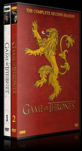 Game of Thrones (Taht Oyunları) - Seasons 1-2 - Custom Dvd Cover Set - English [2011-?]-spinesssjpg