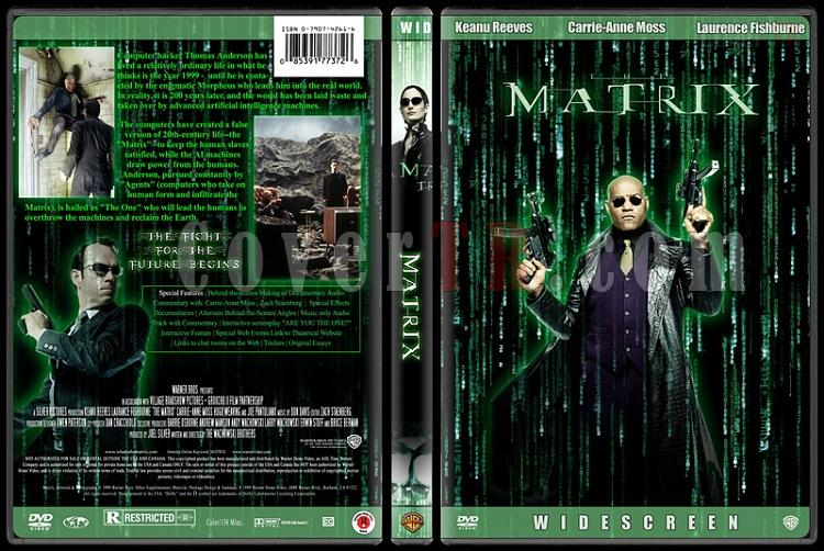 The Matrix Trilogy - Custom Dvd Cover Set - English [1999-2003-2003]-1jpg