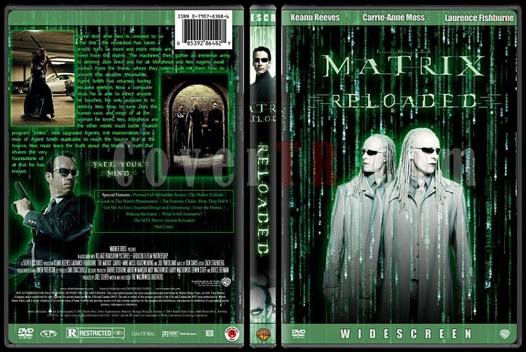 The Matrix Trilogy - Custom Dvd Cover Set - English [1999-2003-2003]-2jpg