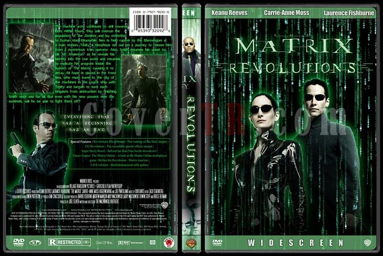 The Matrix Trilogy - Custom Dvd Cover Set - English [1999-2003-2003]-3jpg