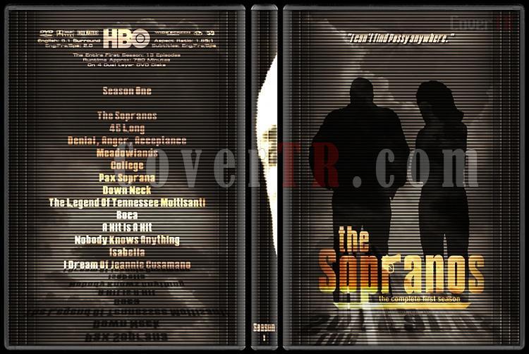 The Sopranos (Seasons 1-6) - Custom Dvd Cover Set - English [1999-2007]-1jpg