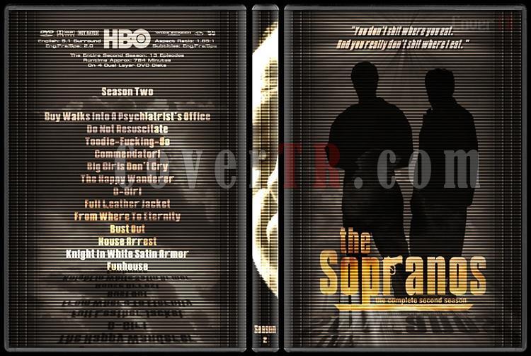 The Sopranos (Seasons 1-6) - Custom Dvd Cover Set - English [1999-2007]-2jpg