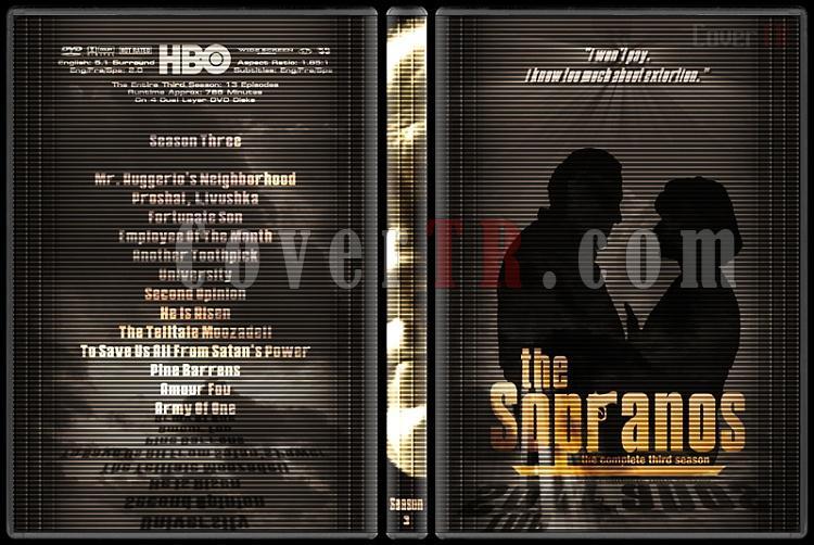 The Sopranos (Seasons 1-6) - Custom Dvd Cover Set - English [1999-2007]-3jpg