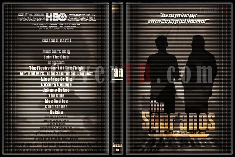 The Sopranos (Seasons 1-6) - Custom Dvd Cover Set - English [1999-2007]-6-1jpg