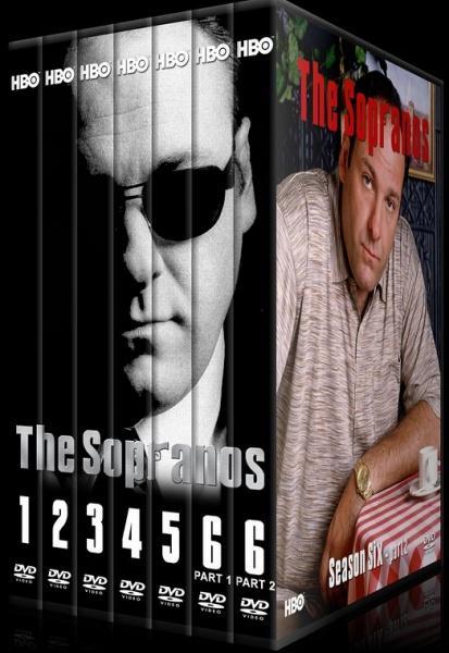 The Sopranos (Seasons 1-6) - Custom Dvd Cover Set - English [1999-2007]-jkdsaklmdajpg