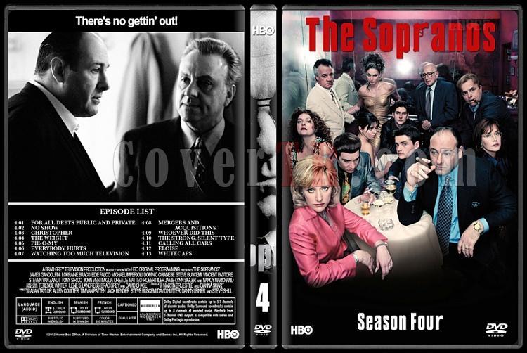 The Sopranos (Seasons 1-6) - Custom Dvd Cover Set - English [1999-2007]-4jpg