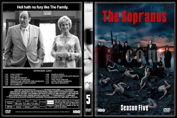 The Sopranos (Seasons 1-6) - Custom Dvd Cover Set - English [1999-2007]-5jpg