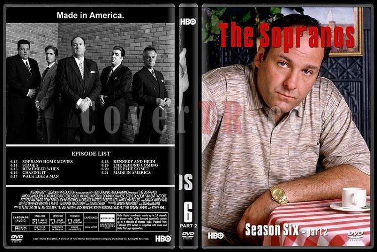 The Sopranos (Seasons 1-6) - Custom Dvd Cover Set - English [1999-2007]-6-2jpg