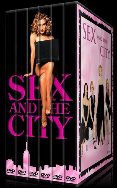 Sex and the City (Seasons 1-6) - Custom Dvd Cover Set - French [1998-2004]-kdhsaojpg