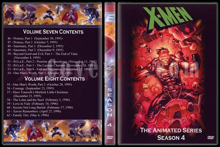 X-Men: The Animated Series (Seasons 1-5) - Custom Dvd Cover Set - English [1992-1997]-4jpg
