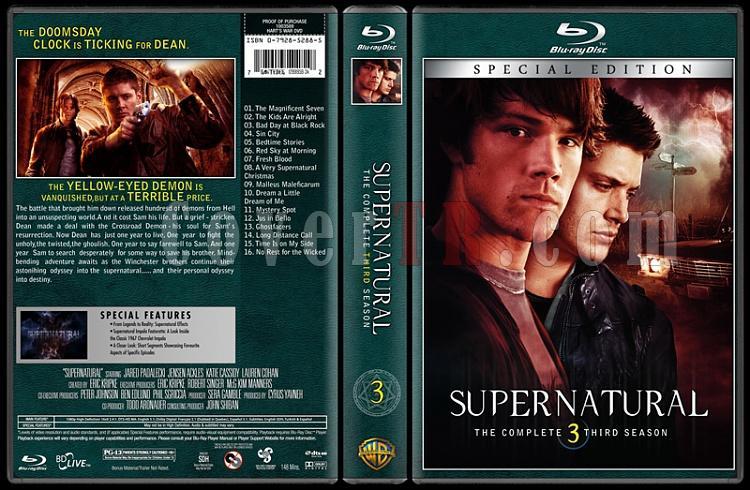 Supernatural (Seasons 1-8) - Custom Bluray Cover Set - English [2005-?]-03jpg
