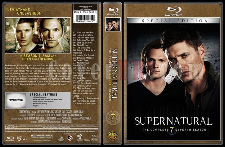 Supernatural (Seasons 1-8) - Custom Bluray Cover Set - English [2005-?]-07jpg