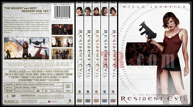 Resident Evil Collection (Resident Evil Koleksiyonu) - Custom Dvd Cover Set - English-hepsijpg