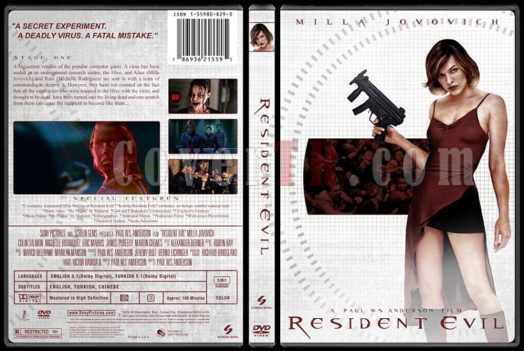 Resident Evil Collection (Resident Evil Koleksiyonu) - Custom Dvd Cover Set - English-1jpg