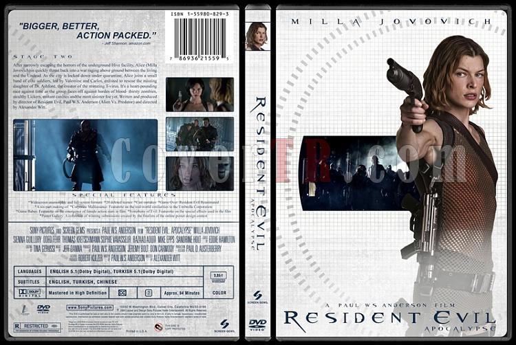 Resident Evil Collection (Resident Evil Koleksiyonu) - Custom Dvd Cover Set - English-2jpg