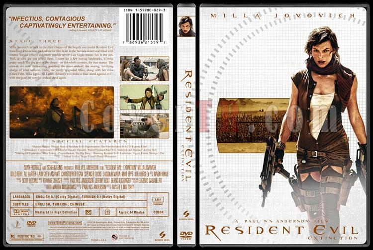 Resident Evil Collection (Resident Evil Koleksiyonu) - Custom Dvd Cover Set - English-3jpg