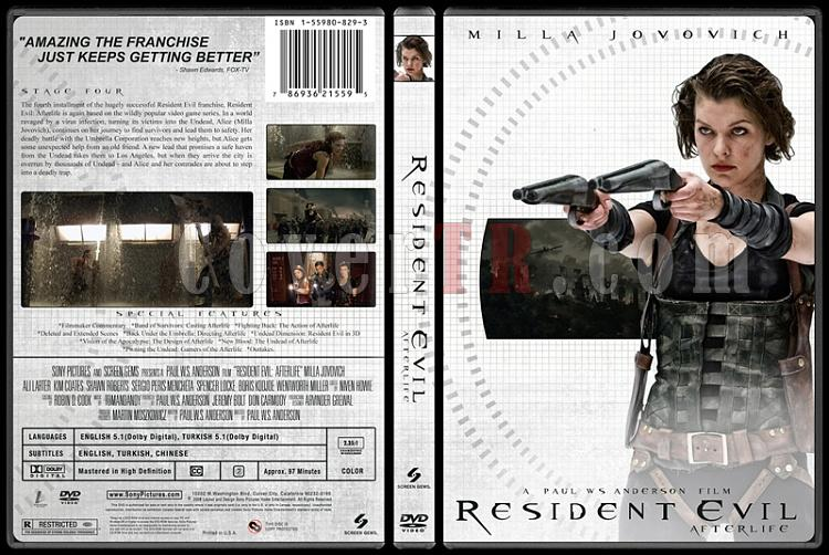 Resident Evil Collection (Resident Evil Koleksiyonu) - Custom Dvd Cover Set - English-4jpg