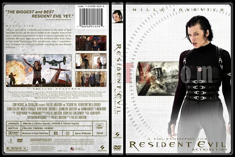Resident Evil Collection (Resident Evil Koleksiyonu) - Custom Dvd Cover Set - English-5jpg