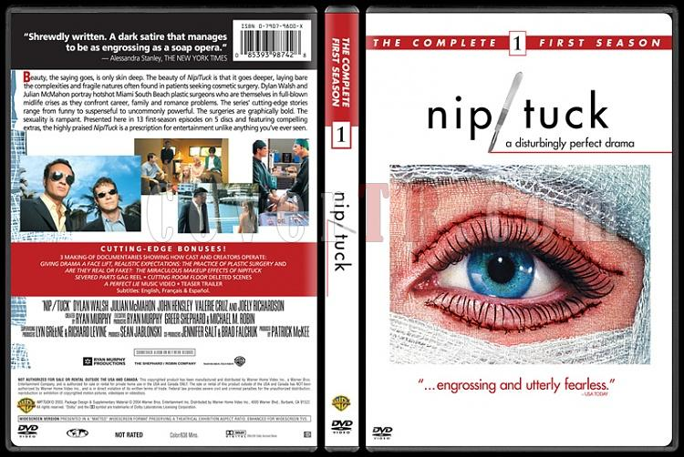 Nip Tuck (Seasons 1-6) - Custom Dvd Cover Set - English [2003-2010]-1jpg