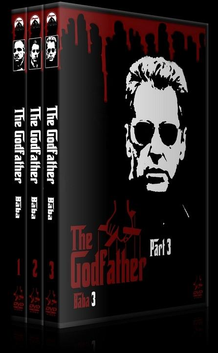 The Godfather (Baba) - Custom Dvd Cover Set - Türkçe [1972-1974-1990]-000jpg