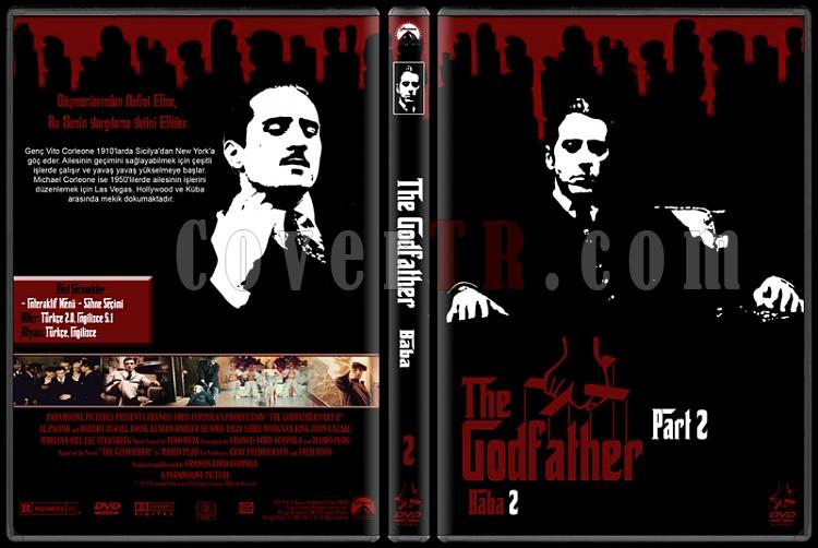 The Godfather (Baba) - Custom Dvd Cover Set - Türkçe [1972-1974-1990]-2jpg