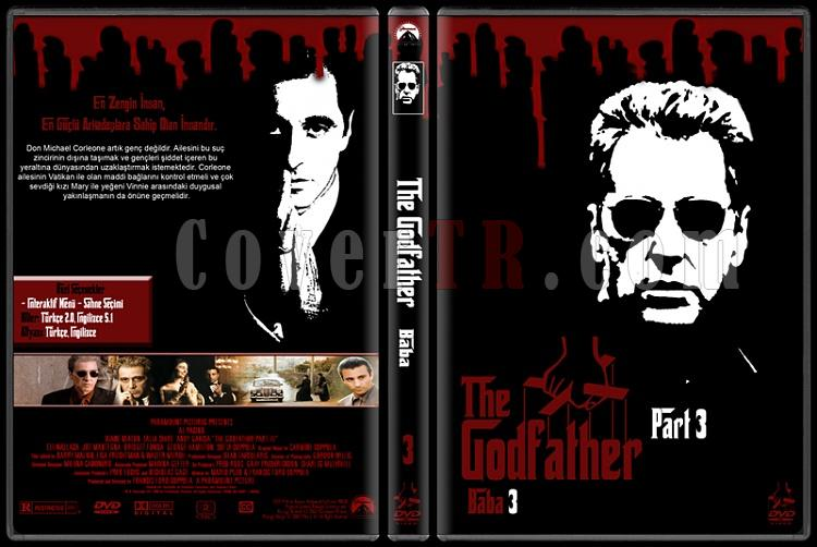 The Godfather (Baba) - Custom Dvd Cover Set - Türkçe [1972-1974-1990]-3jpg