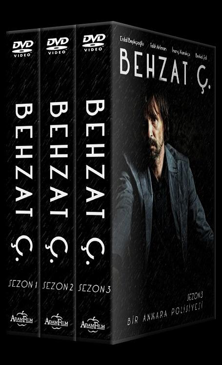 Behzat Ç. - Custom Dvd Cover Set - Türkçe [2010-2013]-27mm-hepsijpg