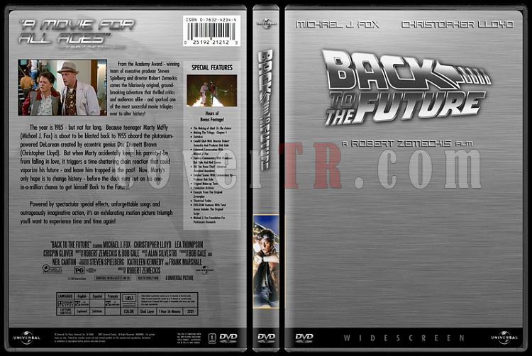 Back to the Future (Geleceğe Dönüş) - Custom Dvd Cover Set - English [1985-1989-1990]-1jpg