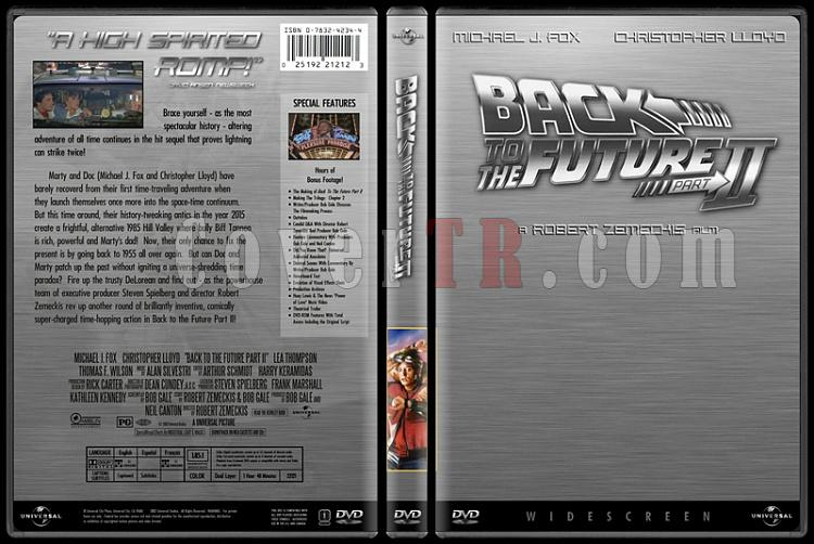 Back to the Future (Geleceğe Dönüş) - Custom Dvd Cover Set - English [1985-1989-1990]-2jpg