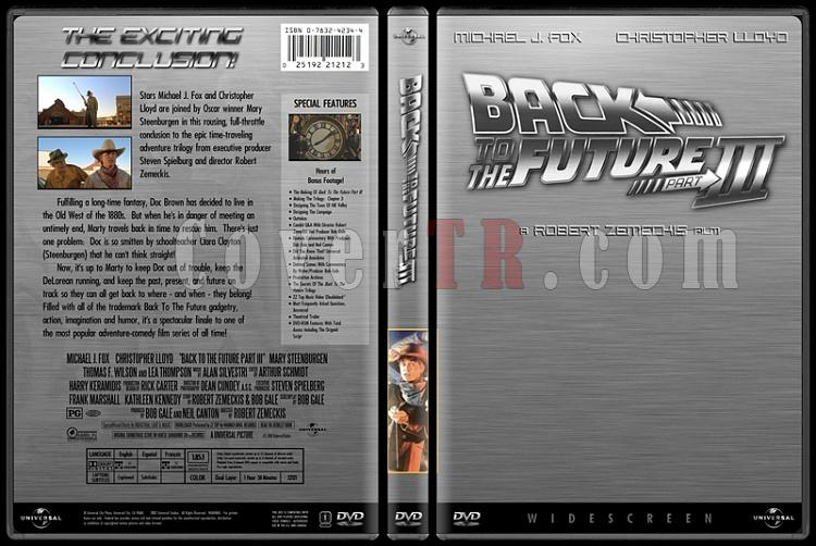 Back to the Future (Geleceğe Dönüş) - Custom Dvd Cover Set - English [1985-1989-1990]-3jpg