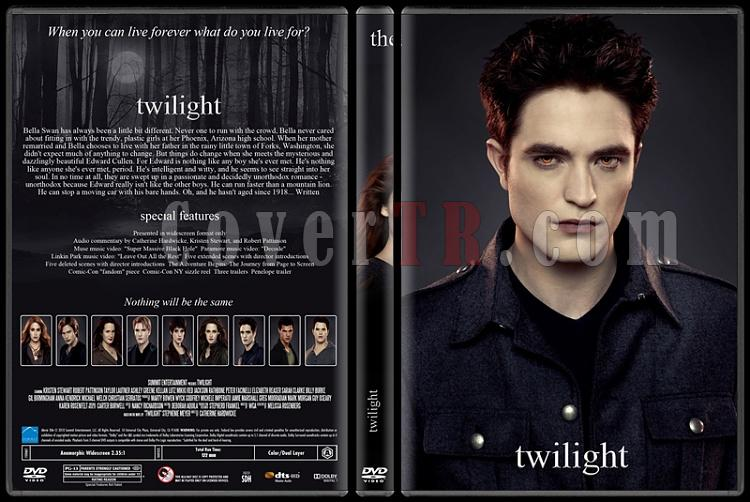 The Twilight Saga (Alacakaranlık Efsanesi) - Custom Dvd Cover Set - English [2008-2012]-1jpg