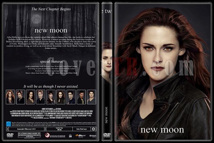 The Twilight Saga (Alacakaranlık Efsanesi) - Custom Dvd Cover Set - English [2008-2012]-2jpg