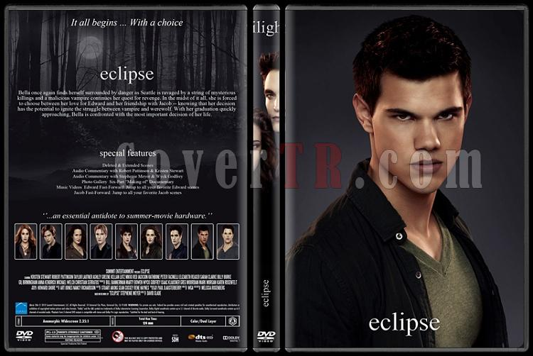 The Twilight Saga (Alacakaranlık Efsanesi) - Custom Dvd Cover Set - English [2008-2012]-3jpg