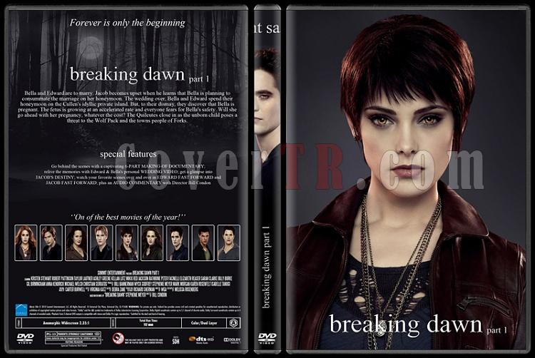 The Twilight Saga (Alacakaranlık Efsanesi) - Custom Dvd Cover Set - English [2008-2012]-4jpg