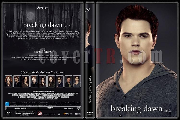 The Twilight Saga (Alacakaranlık Efsanesi) - Custom Dvd Cover Set - English [2008-2012]-5jpg