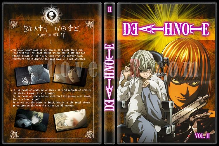 Death Note - Custom Dvd Cover Set - English [2006-2007]-death-note-2-picjpg