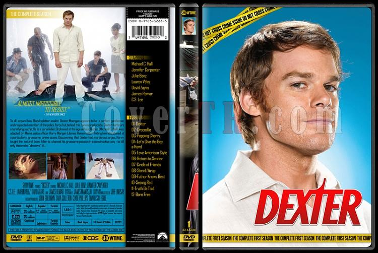 Dexter (Seasons 1-8) - Custom Dvd Cover Set - English [2006 - 2013]-1jpg
