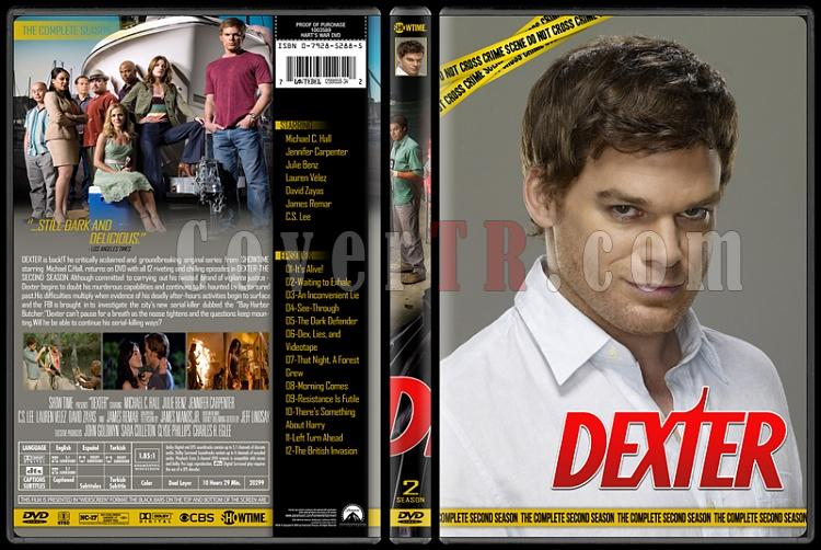 Dexter (Seasons 1-8) - Custom Dvd Cover Set - English [2006 - 2013]-2jpg