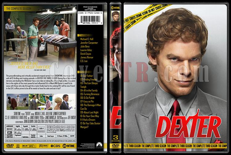 Dexter (Seasons 1-8) - Custom Dvd Cover Set - English [2006 - 2013]-3jpg