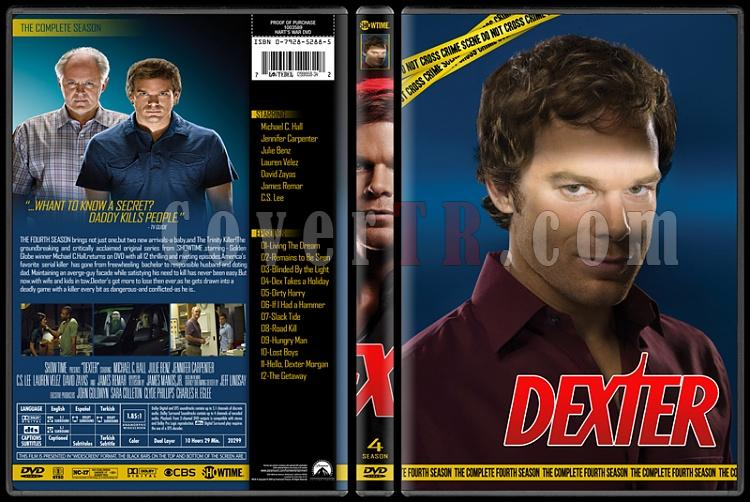 Dexter (Seasons 1-8) - Custom Dvd Cover Set - English [2006 - 2013]-4jpg