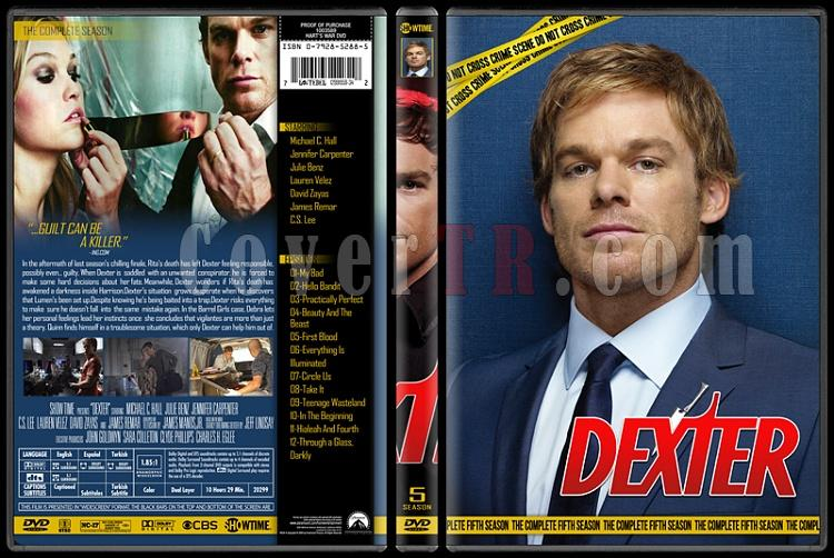 Dexter (Seasons 1-8) - Custom Dvd Cover Set - English [2006 - 2013]-5jpg